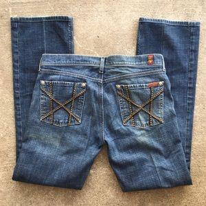7 Jeans   Straight Leg Jeans
